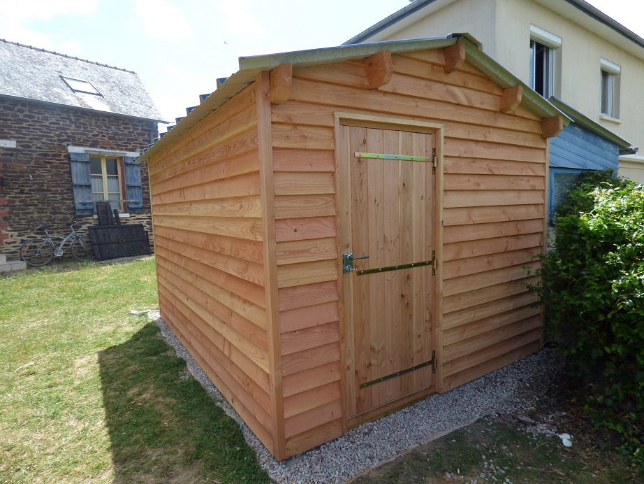 abris de jardin garages pergolas jardi bois cr ation. Black Bedroom Furniture Sets. Home Design Ideas