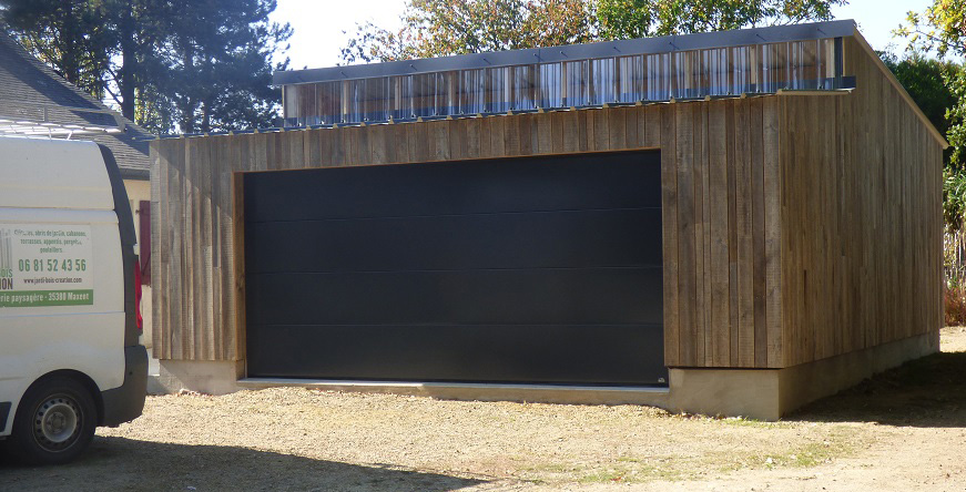 Abris De Jardin Garages Pergolas Jardi Bois Création